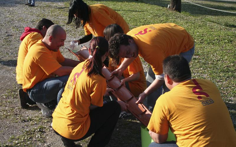 Raons per organitzar un 'team building' d'esports d'aventura
