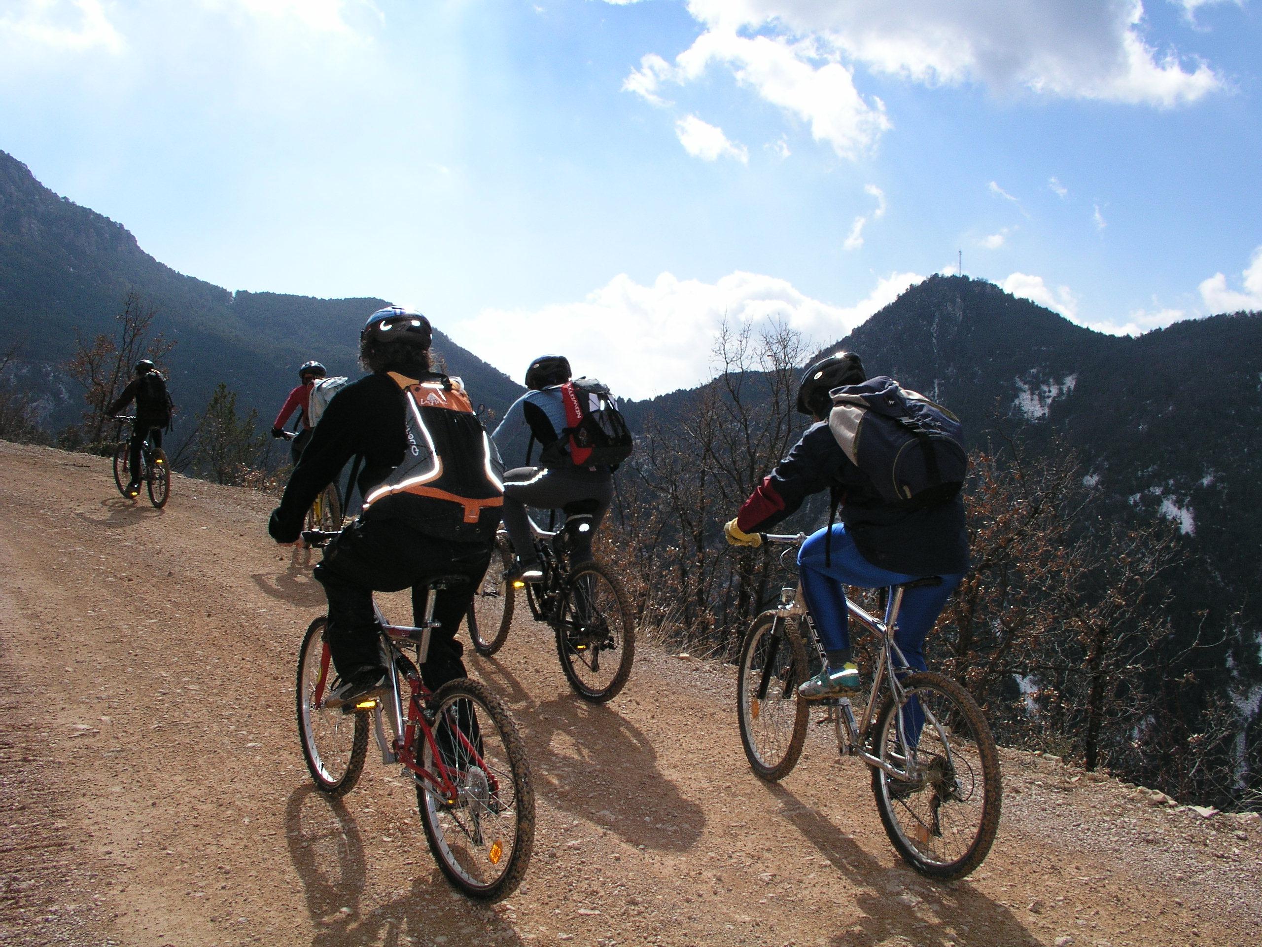 activitats bicicleta btt